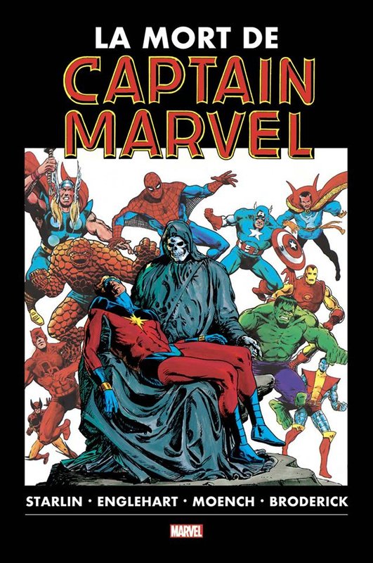 graphic novel la mort de captain marvel