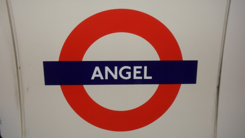 London Underground : Panneau Angel
