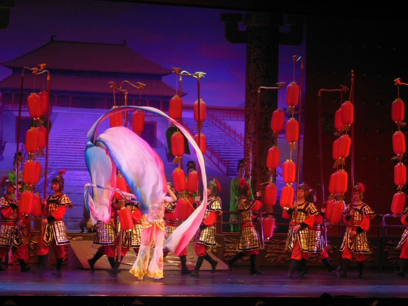 Tang Dynasty Show: une exploXi'an de couleurs