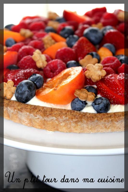 Tarte fruits frais tiramisu1