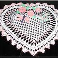 2006 * coeur fleurs et libellule
