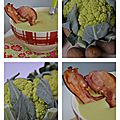 Soupe de choux fleur vert au piment d'Espelette1