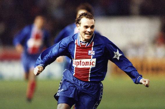 15 mars 1995 VINCENT GUERIN, BUTEUR FACE AU FC BARCELONE