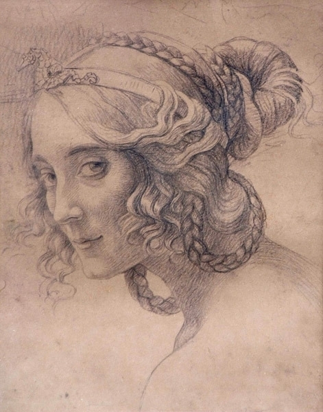 Armand Point Portrait d'Hélène Lindet