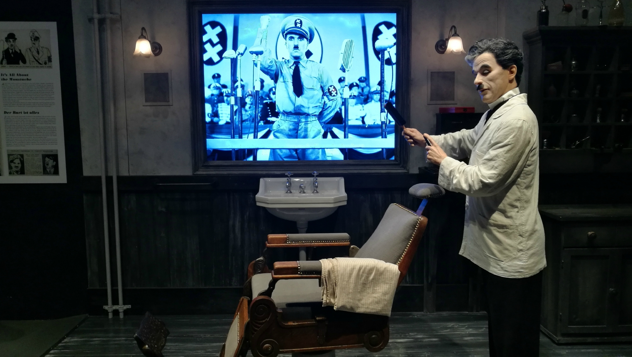 Corsier-sur-Vevey, Chaplin's world, le Studio, le barbier
