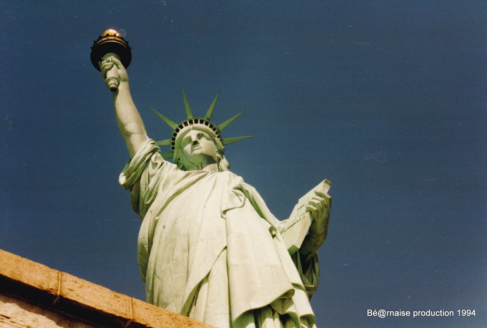 Statue de la Liberté (New York, avril 1994)