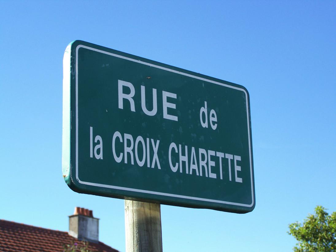 Saint-André-Goule-d'Oie (85), rue de la Croix Charette