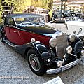 Mercedes 290 cabriolet de 1937 (Cité de l'Automobile Collection Schlumpf à Mulhouse) 01