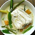 Curry de poisson light