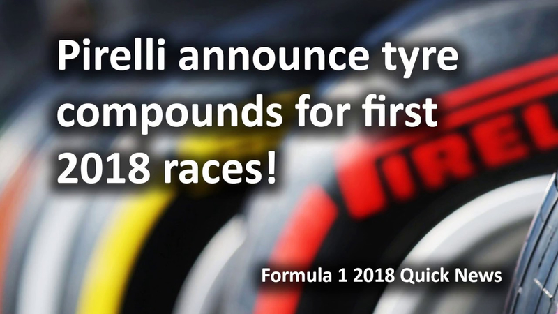 TYRE COMPOUND 2018