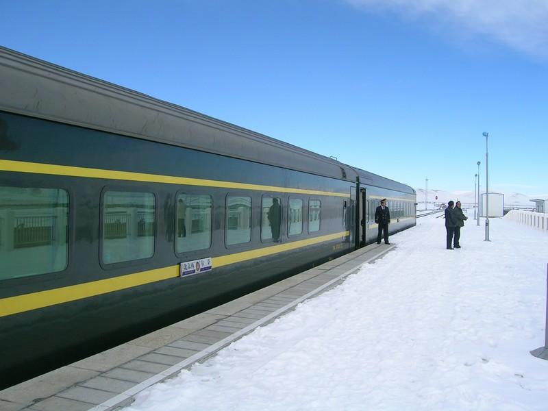 Notre train perdu au milieu du Tibet