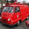 Renault estafette véhicule d'incendie, retrorencard