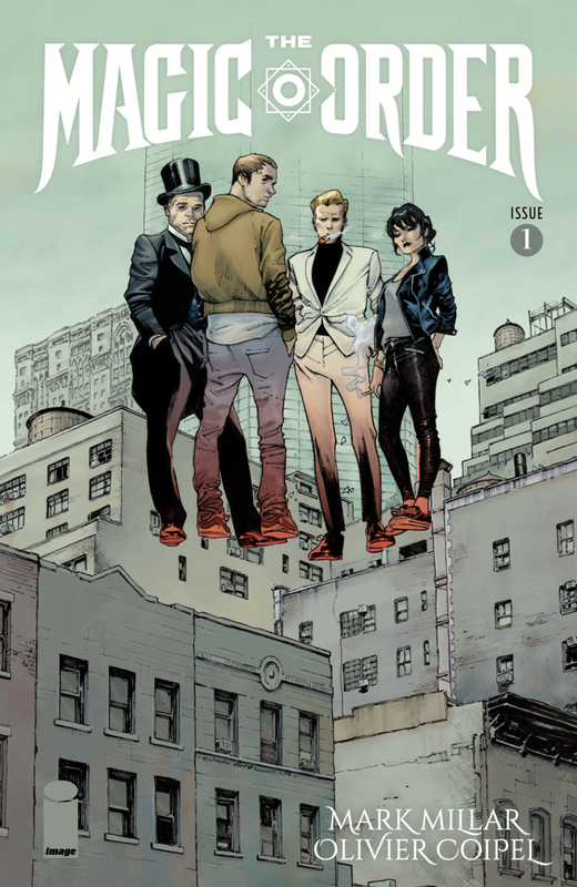 Image Comics : The Magic Order by Mark Millar et Olivier Coipel