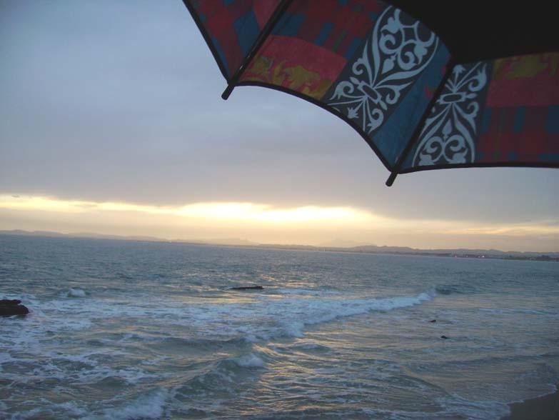 Le coucher de Soleil du 19 octobre 2006 (Golfe d'Hammamet)