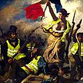 Gilets jaunes : attention a continuer a mépriser le peuple macron nous conduit tout droit a la révolution et a la guerre civile