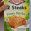 Steak soja aux fines herbes sojasun - 8/10