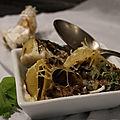 Lumaconis farcis aux champignons