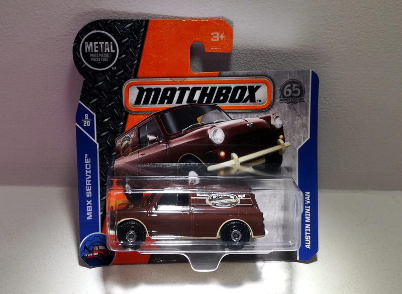 Austin Mini Van (Matchbox)