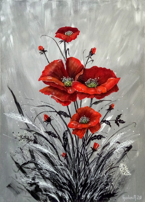 Tears of poppies