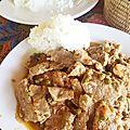 Boeuf au poivre vert de kampot