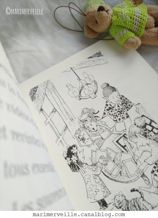 Un temps pour la famille - illustration - blog Marimerveille