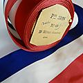 Collection ... ancien ruban tricolore