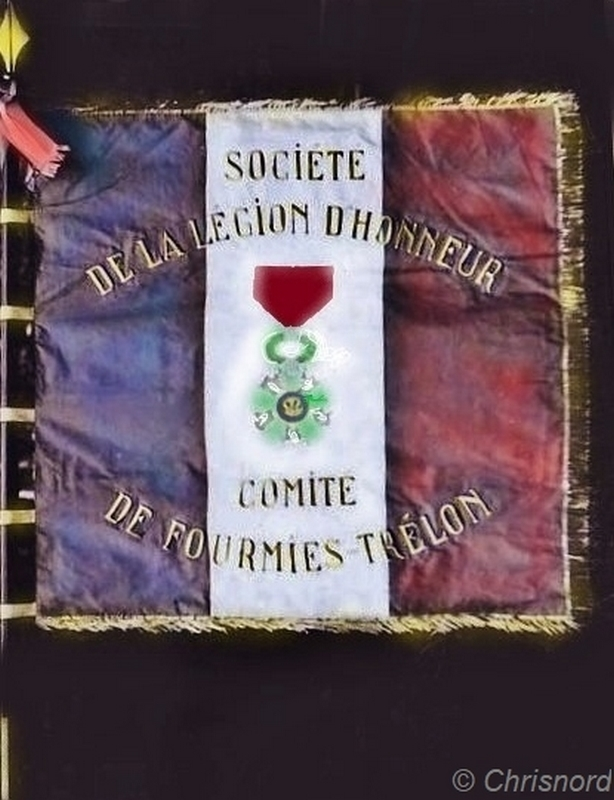 Fourmies-trelon-legion-d-honneur-cp-photo-rare