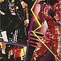 Michael et les jacksons: les étapes de leur grande tournée américaine - salut!, 1984