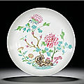A famille-rose saucer dish, mark and period of yongzheng (1723-1735)