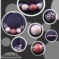 bracelet_perles_rondes_metal_encre_rose_patine