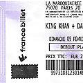 King khan / daddy long legs / gliz - dimanche 9 février 2020 - maroquinerie (paris)