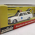 Peugeot 504 ambulance. solido. #23. 1/43.