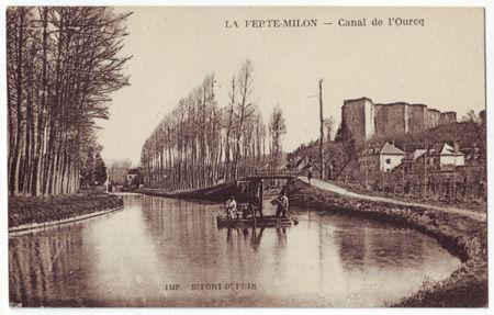 02 - LA FERTE MILON - Canal de l'Ourcq