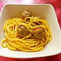 Spaguettis de belle-maman