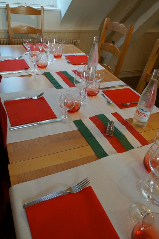 Decoration Italienne Table : Soiree italienne  golf houlgate