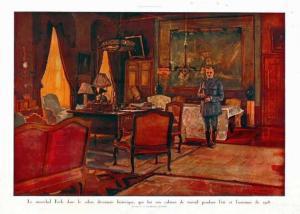 Charles-Duvent-quartier_général_du_maréchal_Foch-7aout-1918