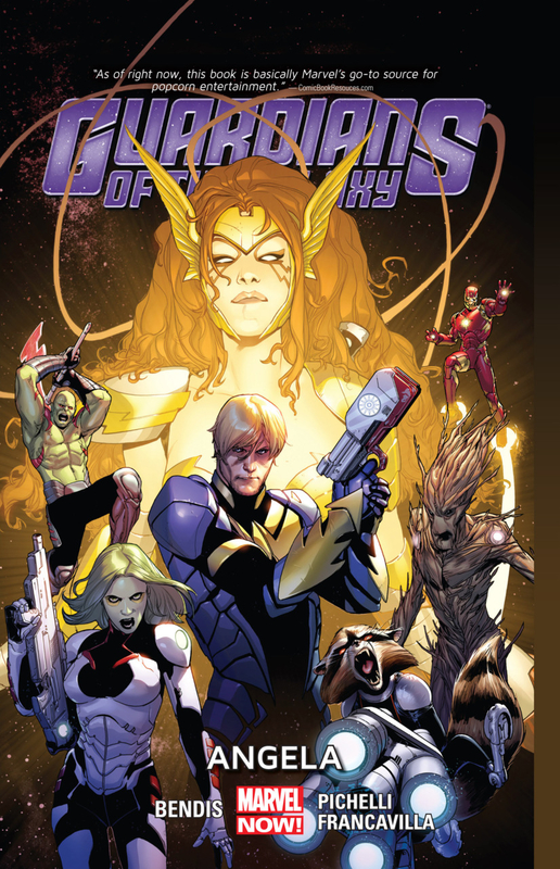 guardians of the galaxy 2013 vol 02 angela TPB