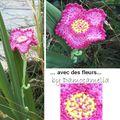 Merci avec des fleurs