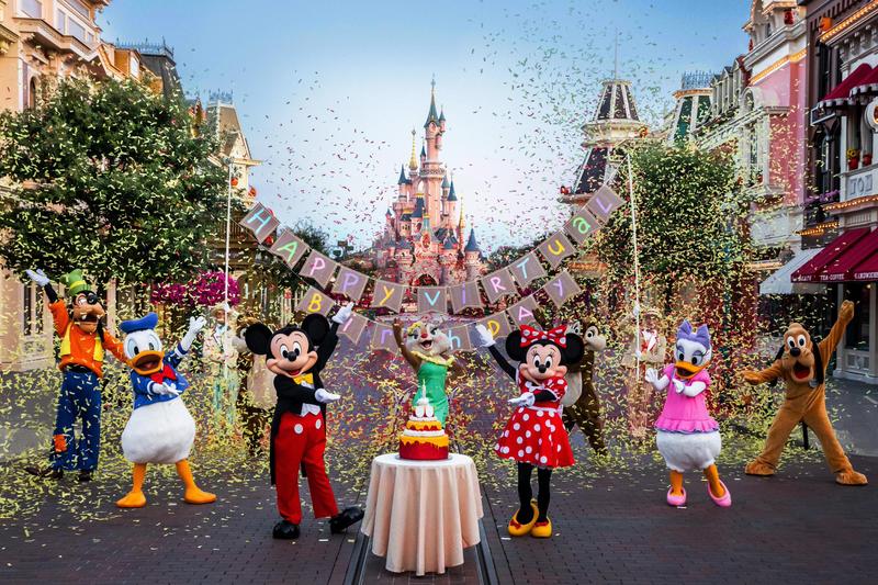Joyeux 29ème anniversaire Disneyland Paris