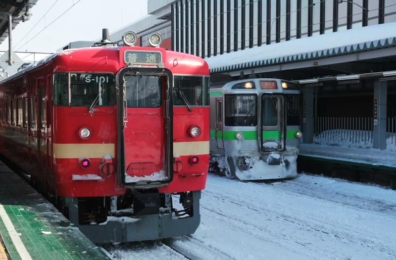 JR 711 & 721, Iwamizawa