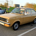 La ford escort mark ii berline 2 portes (1975-1980)(rencard du burger king avril 2011)