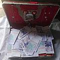 Valise magique d'argent