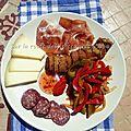 Assiette montagnarde gourmande