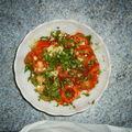 Tomates au persil