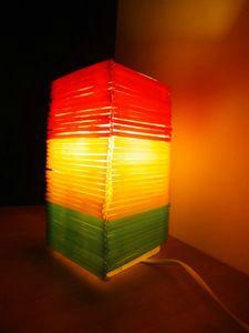 lampe paille