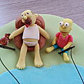 Gateau simpsons