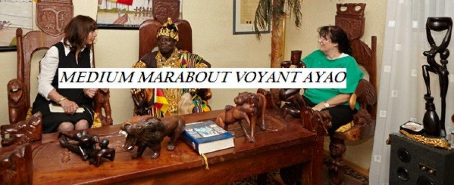 Medium Marabout voyant Ayao Authentique africain médium-voyant-grand magie