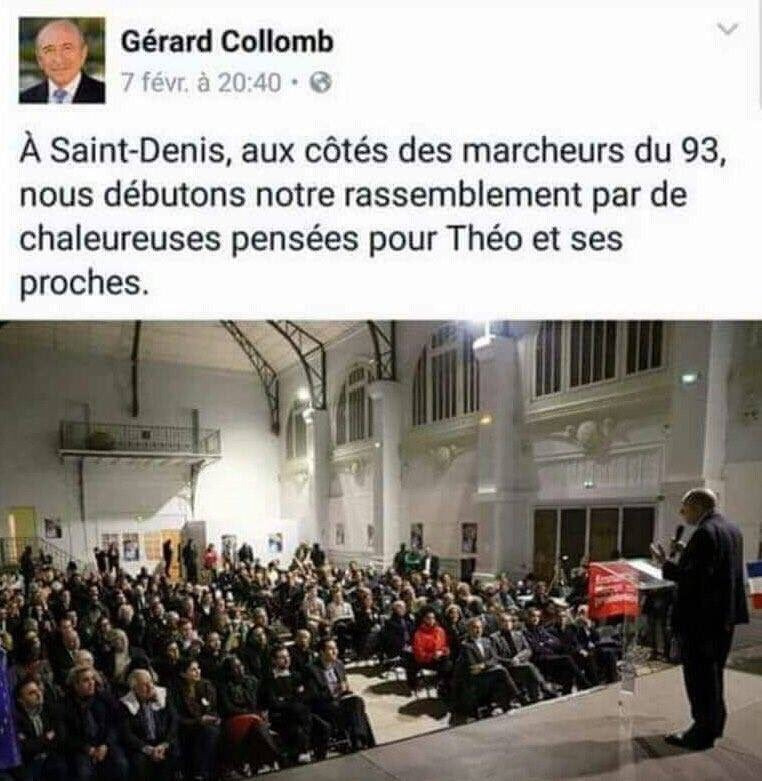macron colomb humour racaille theo