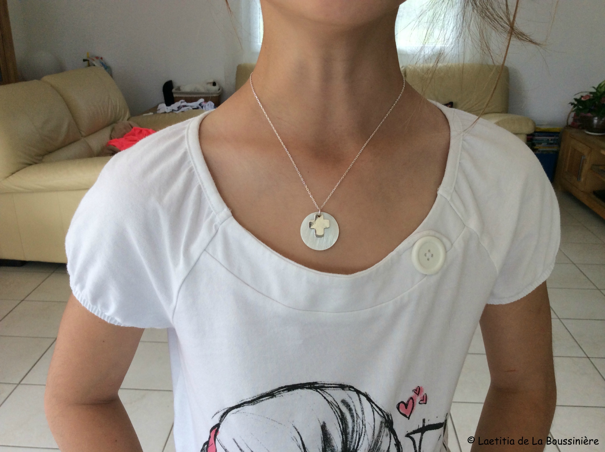 Le collier de Communion de Charlotte