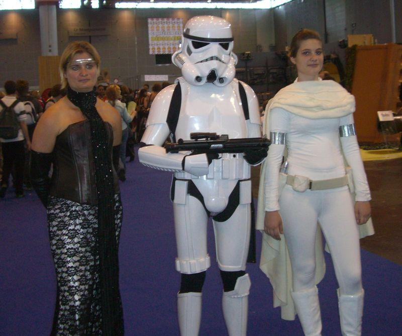 Star Wars - Padmé x2 et un stormtrooper